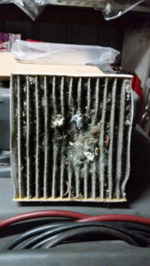 dirty cabin air filter-photo
