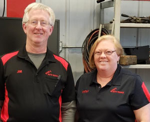 Photo of Owners of Bob's Auto - Cathy and Jim